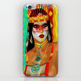 Cultured Colors - Native American Beauty iPhone Skin