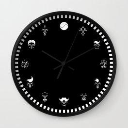 Taeguk Face Wall Clock