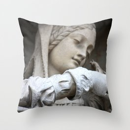 Brussels III Throw Pillow