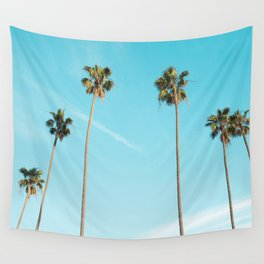 Palm Tree Sunshine Wall Tapestry