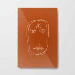 STAR PORTRAIT Metal Print