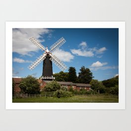 Skidby Mill Art Print