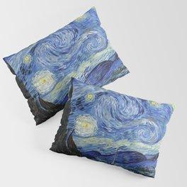 Starry Night by Vincent Van Gogh Kissenbezug