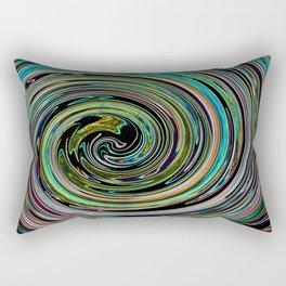 Hypnotic vortex Rectangular Pillow