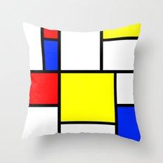 Mondrian1 Throw Pillow