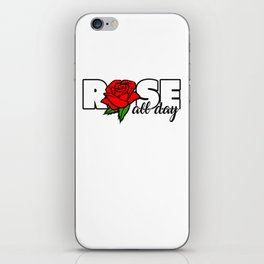 Good Day Drinking Cocktail Drink Rose Wine Lovers Gift Rose All Day iPhone Skin