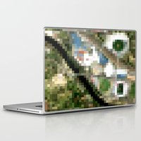 melbourne Laptop & iPad Skins featuring Melbourne by Mark John Grant