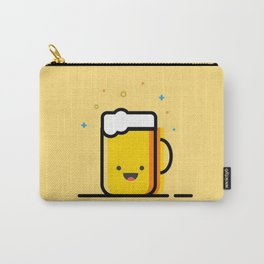 Happy Beer Carry-All Pouch