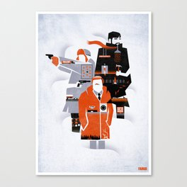Fargo TV Series Poster Canvas Print