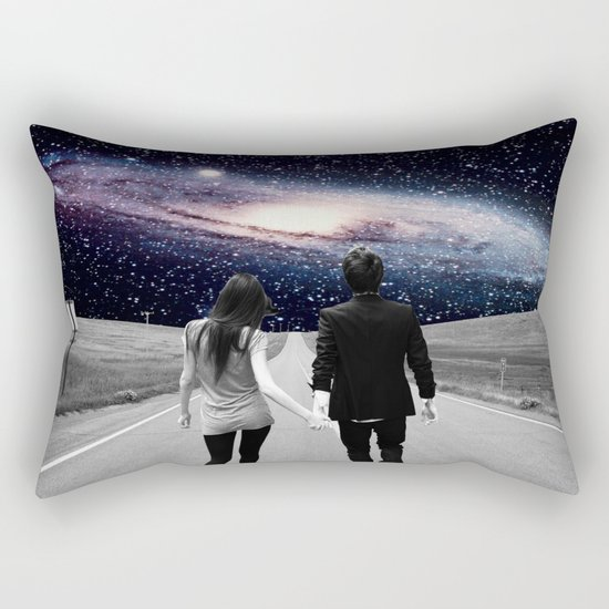 Road to the Universe Rectangular Pillow