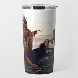 The Abduction of Boone's Daughter by the Indians Travel Mug