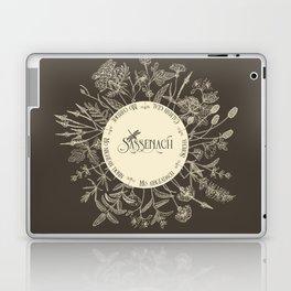 Dear Sassenach in Sepia Laptop & iPad Skin
