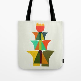 Whimsical bromeliad Tote Bag