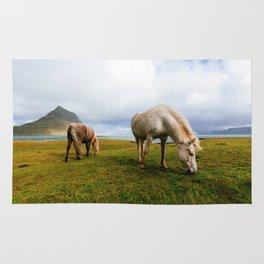 Horses 5 Rug