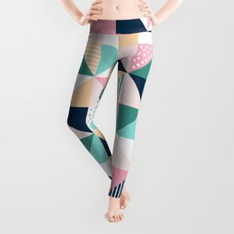 Abstract Triangles Leggings