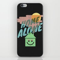 home alone iPhone & iPod Skins featuring Home Alone by Nick Nelson