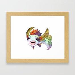 The Flying Bahamut Framed Art Print