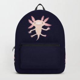 Axolotl vector illustration Backpack