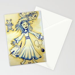 Dreaming Child Stationery Cards