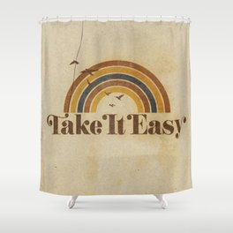 Don't Let The Sound  of Your Own Wheels Drive You Crazy Shower Curtain