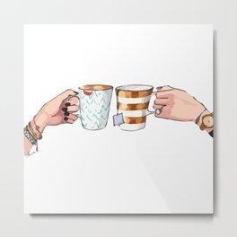 Mugs Metal Print