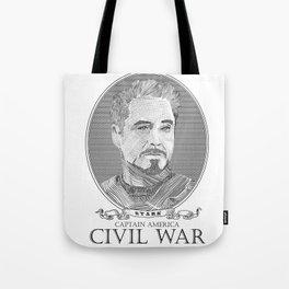 Civil War #2 Tote Bag