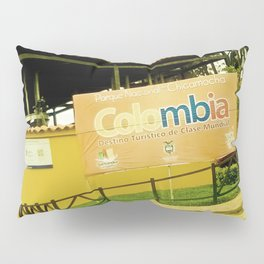 A park in my Colombia. Pillow Sham