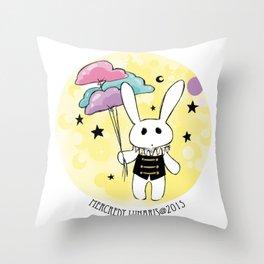 Blythe Circus  ♥★☾ Rabbit ☽★♥ Throw Pillow