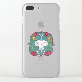 Skeletini Clear iPhone Case
