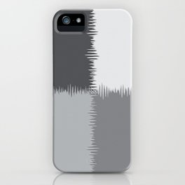 QUARTERS #1 (Grays) iPhone Case