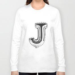 Letter J Long Sleeve T-shirt