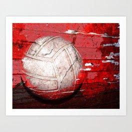Volleyball vs 3 Art Print