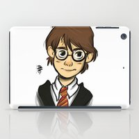 harry iPad Cases featuring HARRY  by art of Bianca