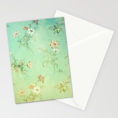 Vintage Flowers XXIII - for iphone Stationery Cards