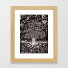 Mystic Tree Framed Art Print