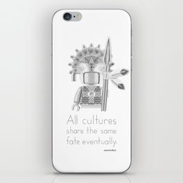 Inca - All Cultures Share the Same Fate Eventually iPhone Skin