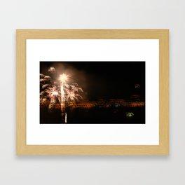 Hazy Celebrations Framed Art Print