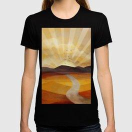 Desert in the Golden Sun Glow II T-shirt
