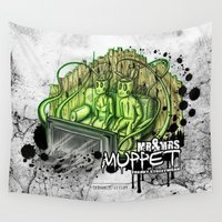 muppet Wall Tapestries featuring mr. & mrs. muppet by ti-dablju-styles - Freaky Design & Art