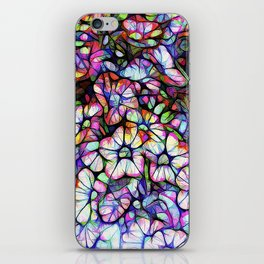 Glass Petunias iPhone Skin