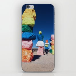 Seven Magic Mountains iPhone Skin