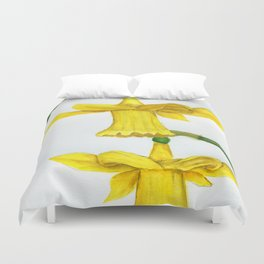 Dance and Twirl Duvet Cover