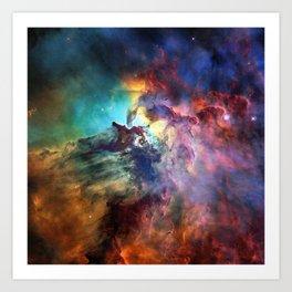 Lagoon Nebula Art Print