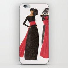 Gala Girl iPhone & iPod Skin