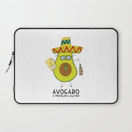 Avocado - A mexican lawyer Laptop Sleeve