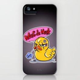 What da heck iPhone Case