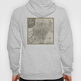 Map of Moscow - 1745 Hoody