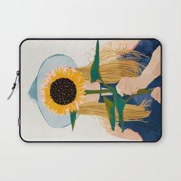 Miss Sunflower || Laptop Sleeve