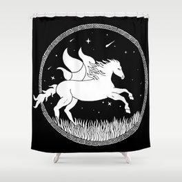Ignis Pegasus Shower Curtain