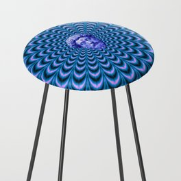 Psychedelic Counter Stool